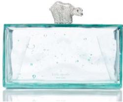 kate spade polar bear clutch