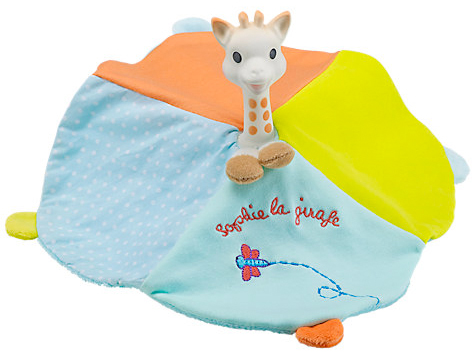 sophie the giraffe comforter from john lewis