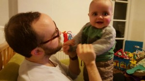 a day in the life of jenson - playing with daddy