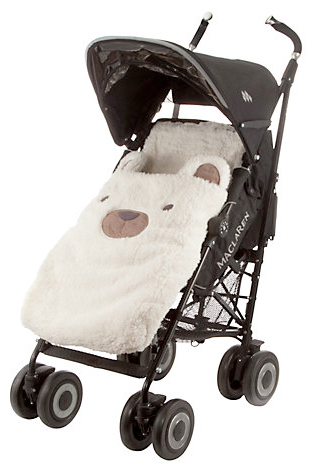 bear footmuff from john lewis