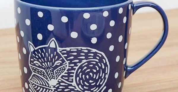 fox mug from urban outfitters