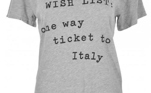 italy tshirt from spoiled brat