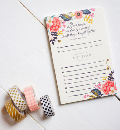 notepad from nouvelle