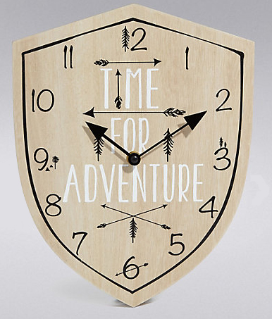 adventure time clock from marks and spencer