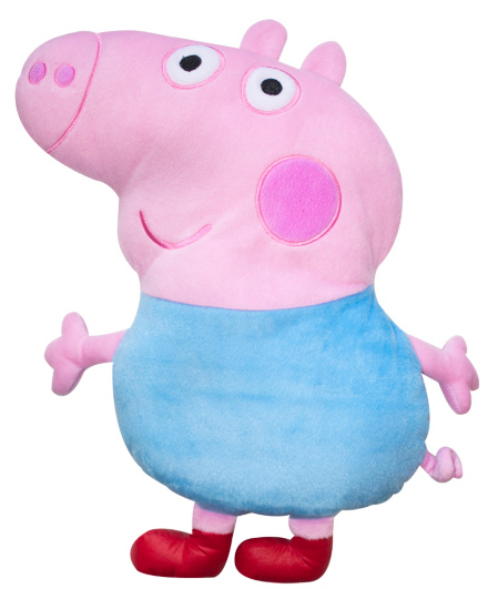 george pig cushion from george at asda