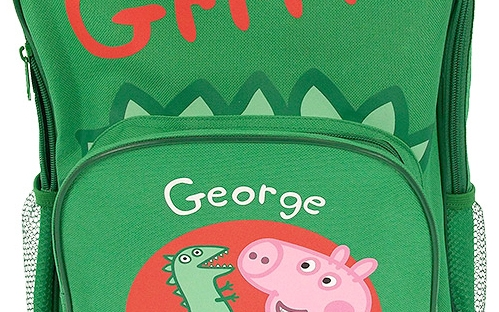 peppa pig suitcase from the bbc store