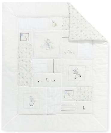 peter rabbit quilt from mothercare