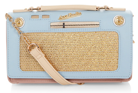 vintage radio bag from accessorize