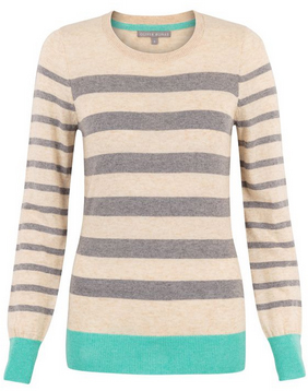 colour block jumper from oliver bonas