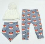 fox leggings from sew kuddly