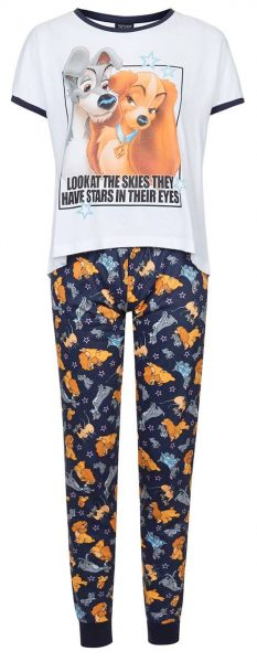 lady and the tramp pjs from topshop