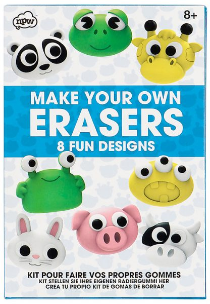 make your own erasers from john lewis