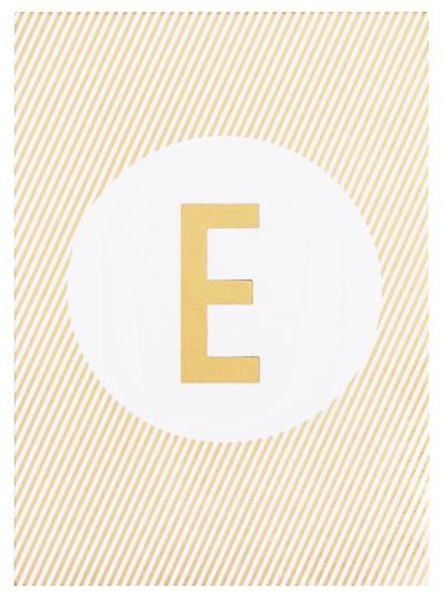 monogram notepad from kikki k