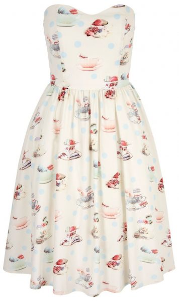 tea and macaroons dress from yumi