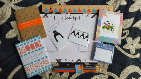 the clever badger stationery haul
