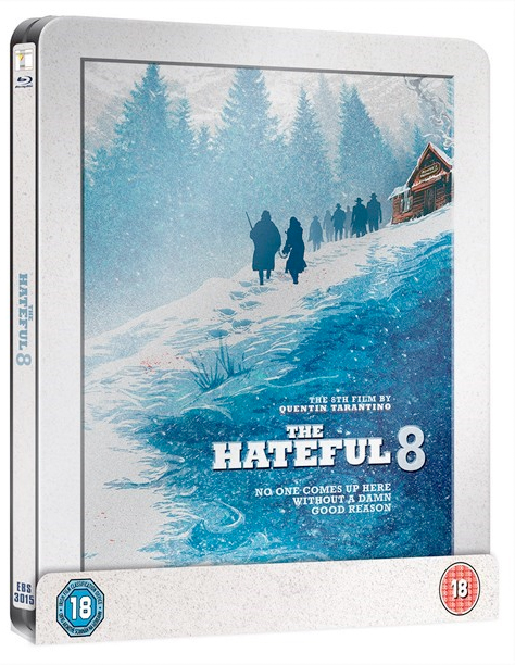 the hateful eight steelbook from hmv
