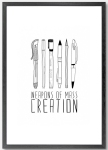 weapons of mass creation print from not on the high street