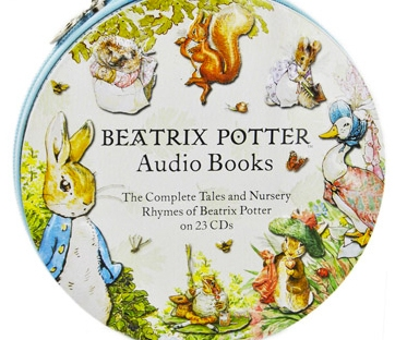 beatrix potter audio books from the works