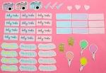 dorkface planner stickers