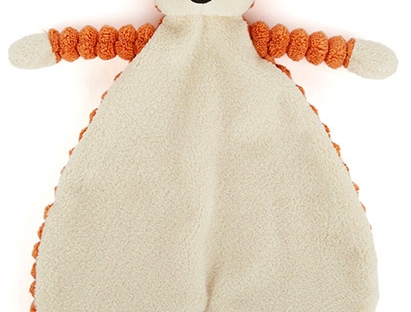 jellycat fox comforter
