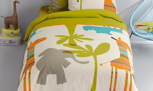 jungle bedding from vertbaudet