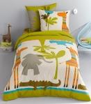 jungle bedding from vertbaudet