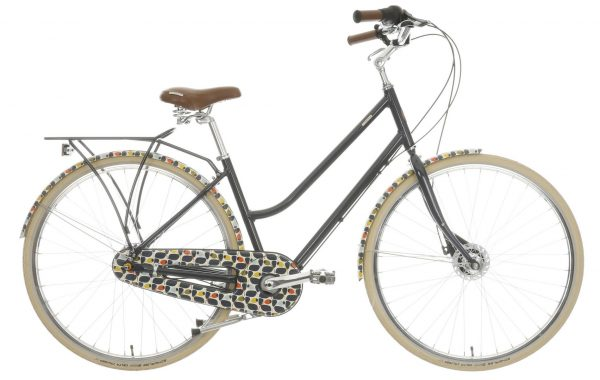 orla kiely classic olive design bike at halfords