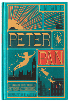 peter pan from minalima