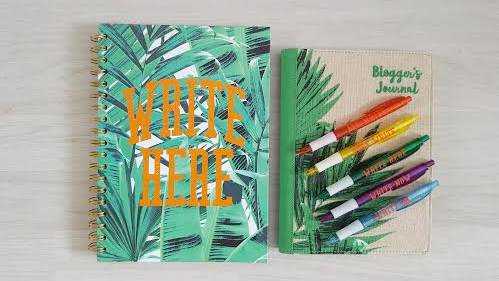 blog organisation and bullet journalling with paperchase