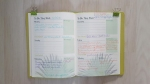 bloggers journal first completed week