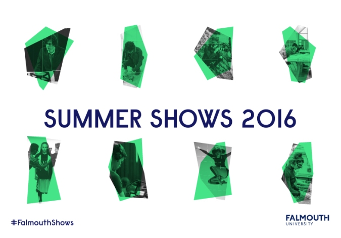 falmouth university summer shows 2016