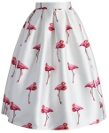 flamingo skirt from little wings factory
