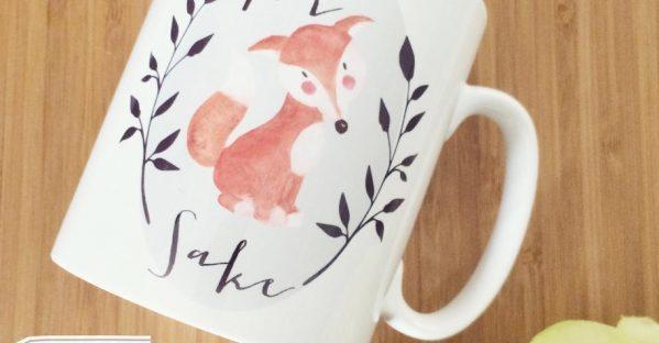 for fox sake mug from beau-ti-ful