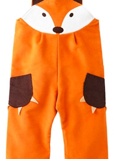 fox dungarees from little buttons boutique