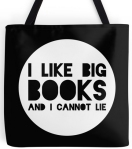 i like big books bag by bookworm boutique