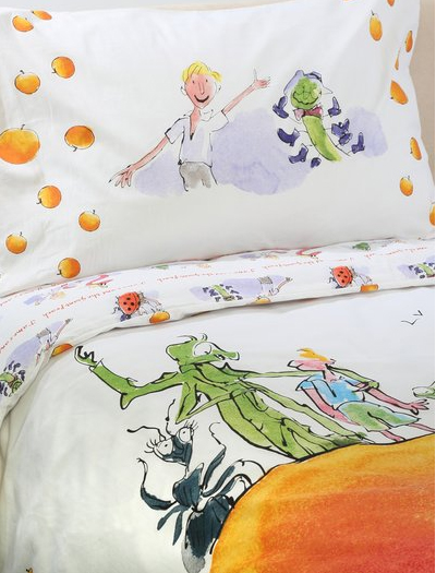 james and the giant peach duvet set from m and co