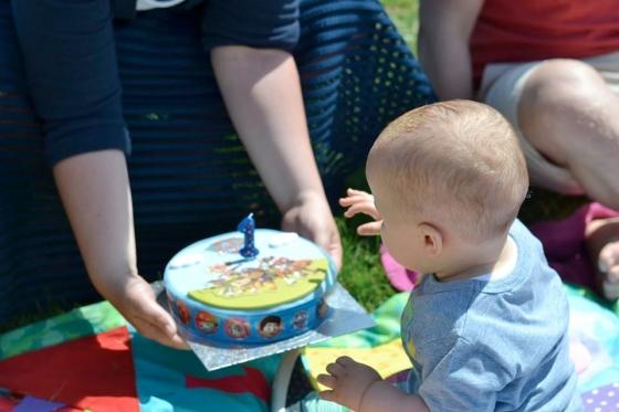jensons first birthday cake