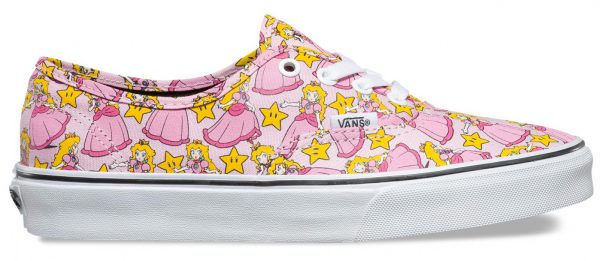 princess peach vans