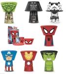 stackable superhero dinner set from ebay