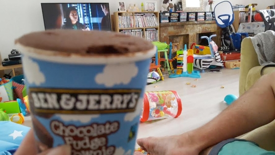 ben and jerrys and the flash