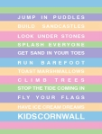 cornwall print for children from sea kisses