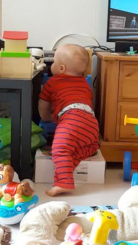 jenson climbing 13 months