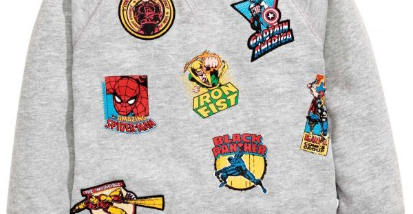 marvel sweater from h&m