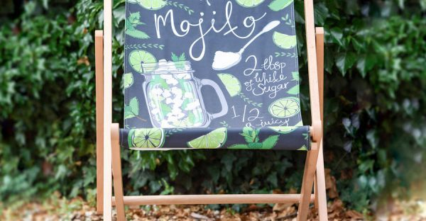 mojito deckchair from not on the high street