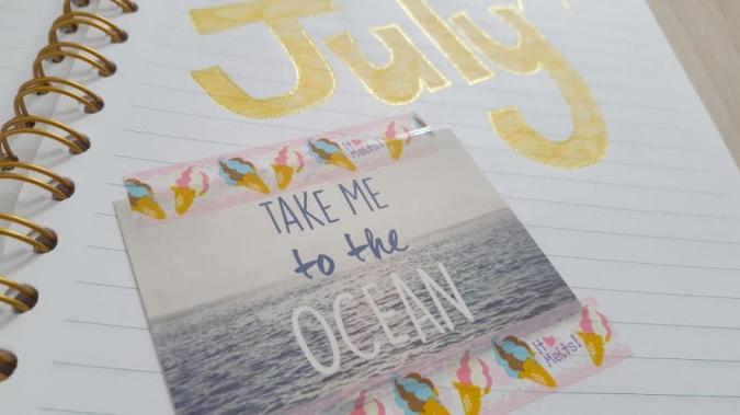 my bullet journal july
