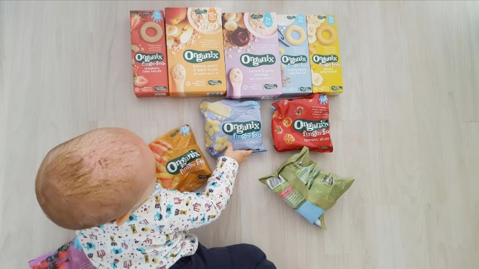 organix food package