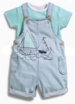 summer dungarees set from next