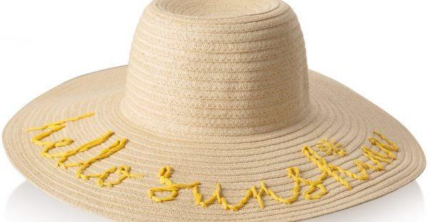 sunhat from oliver bonas