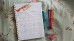 watching and reading bullet journal july 2016