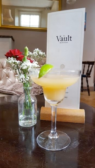 cocktails at the vault